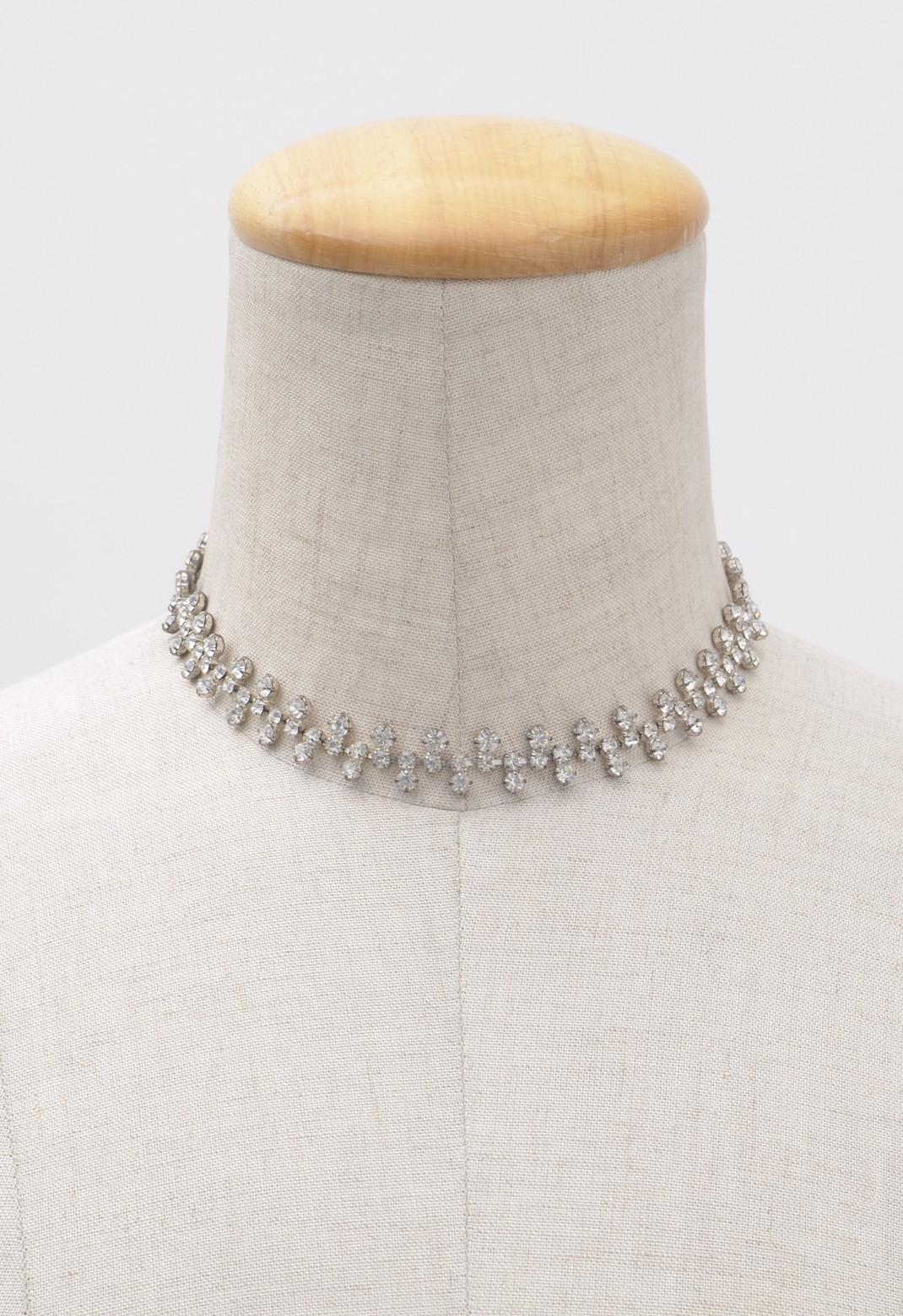 スワロフスキー チョーカー ネックレス