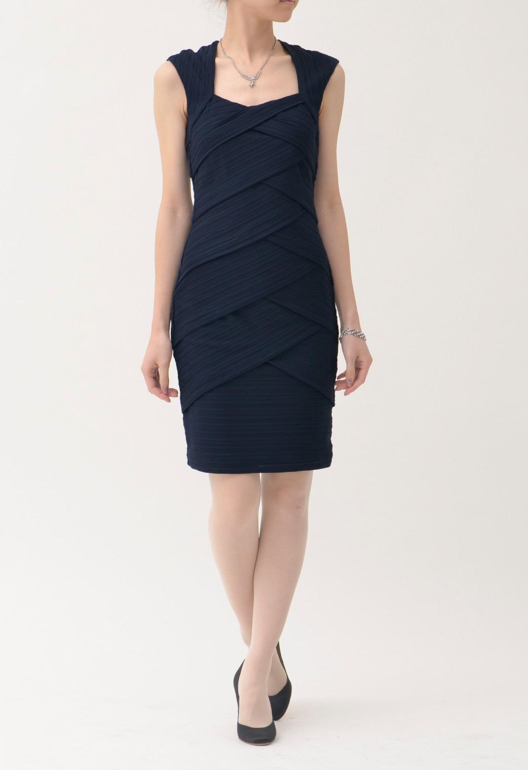 バンテージ ノースリーブ ドレス