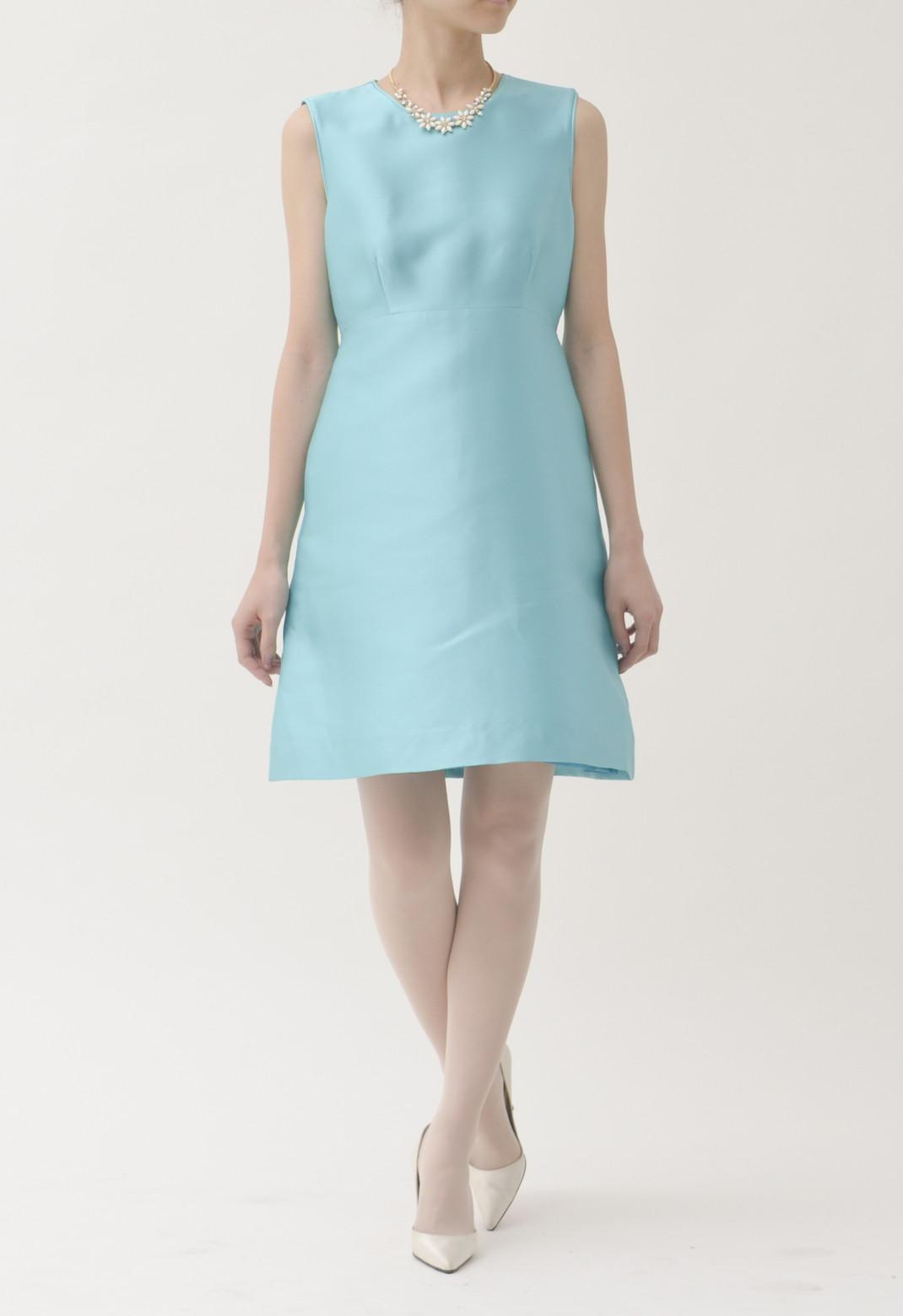 ケイトスペード ラウンドネック ノースリーブ ドレス