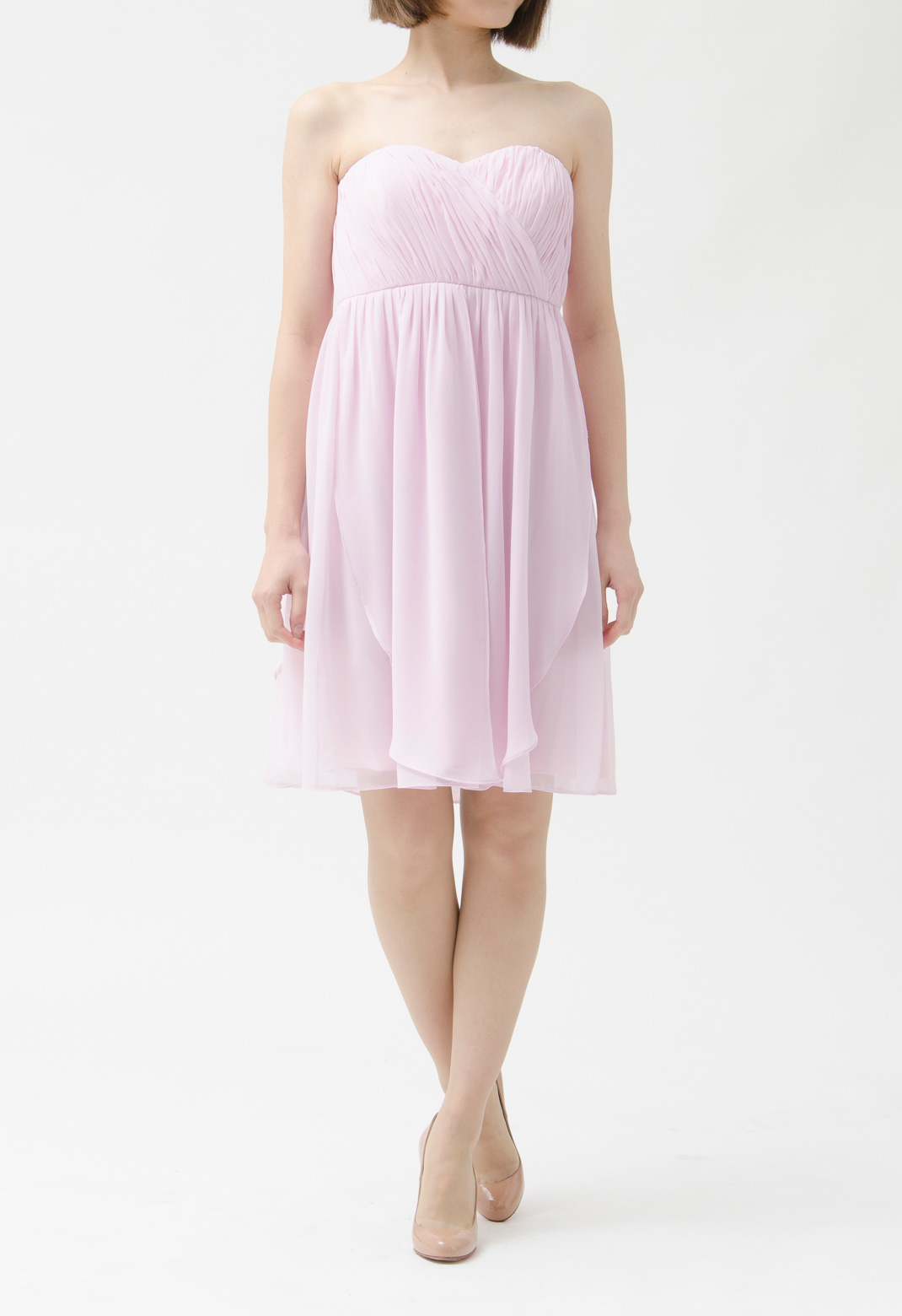 3way ストラップレス ドレス【ブライズメイド】