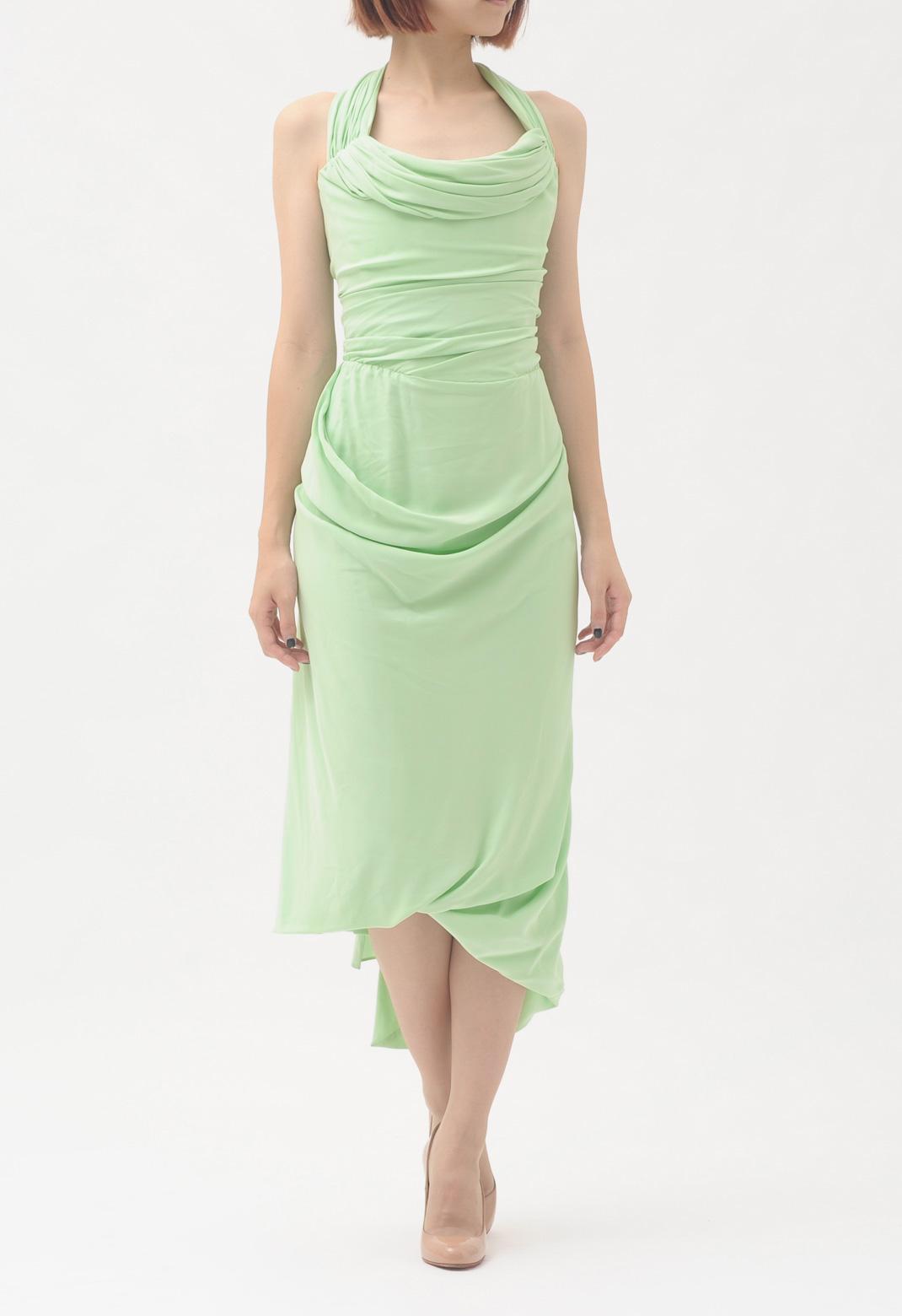 ヴィヴィアンウエストウッド 6way ベアトップ ドレス