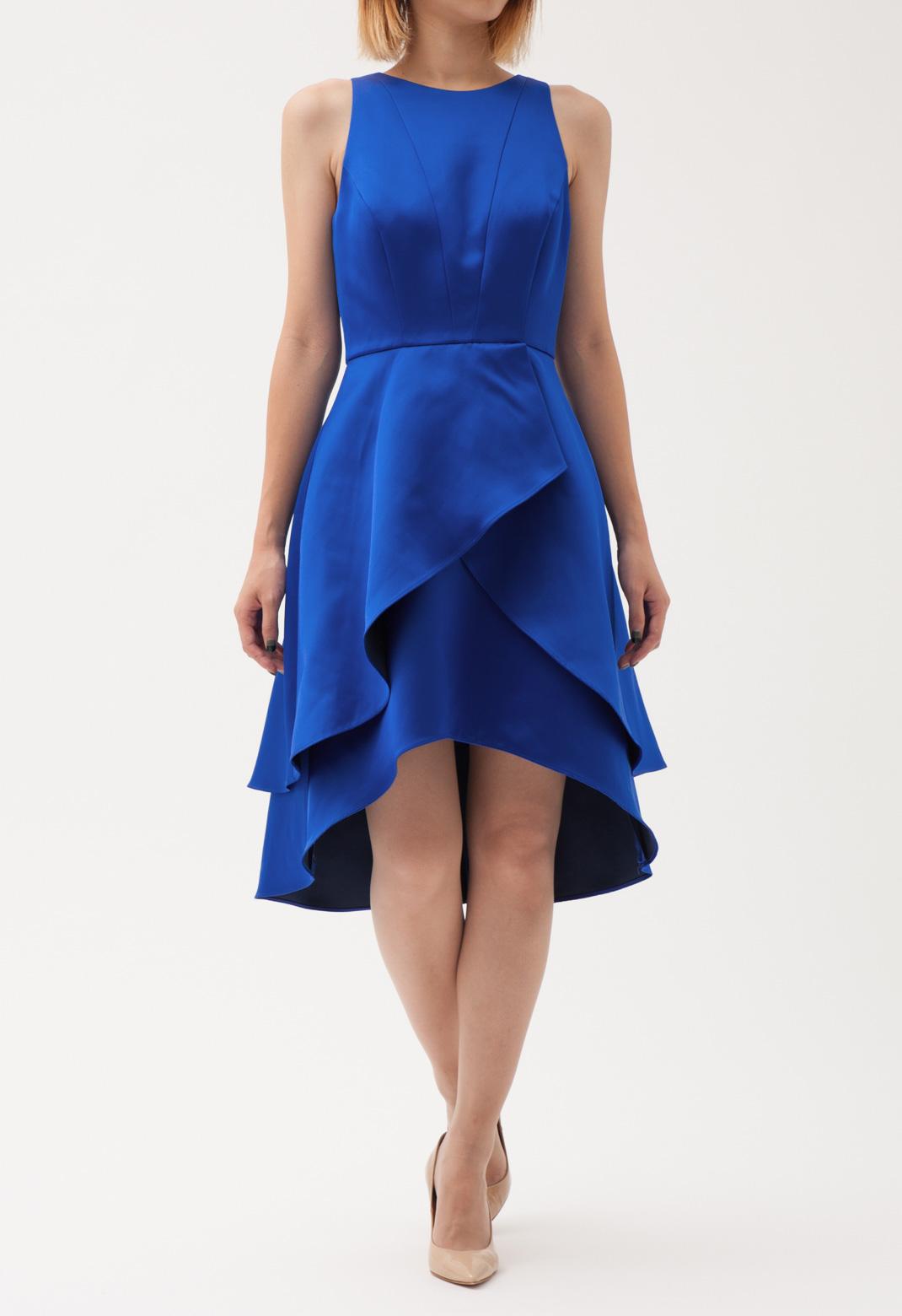 ティアードフレア ノースリーブ ドレス