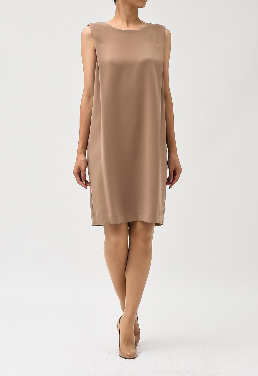 ビームス サイド タック ドレープ ドレス