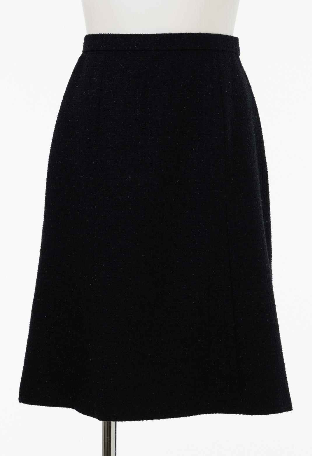 ラメツイード スカート ※セットアップ対応