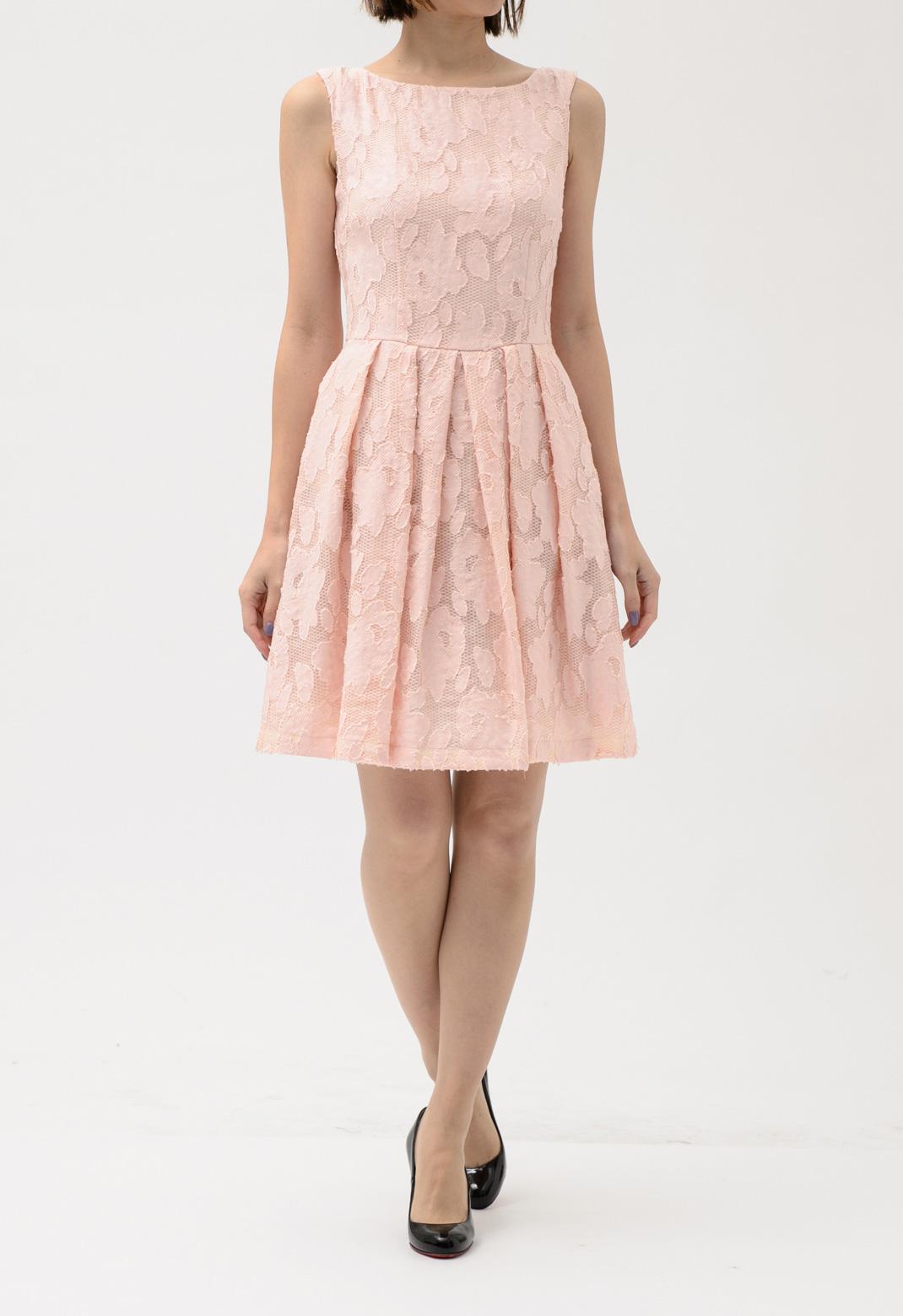 blugirl フラワーレース ノースリーブ ドレス