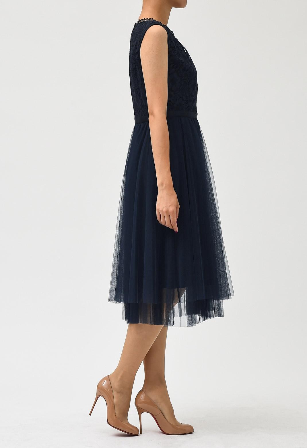 【オンライン限定】ジャスグリッティー レース チュール フレアー ドレス
