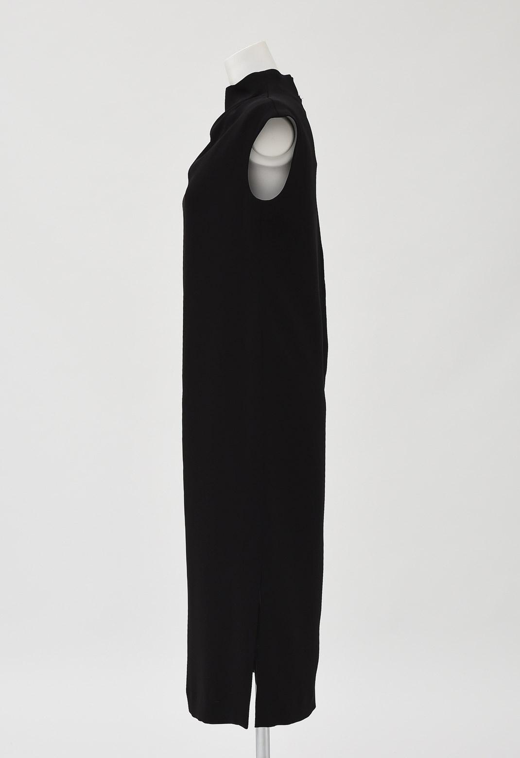 ビームス ボトルネック ドレープ ドレス