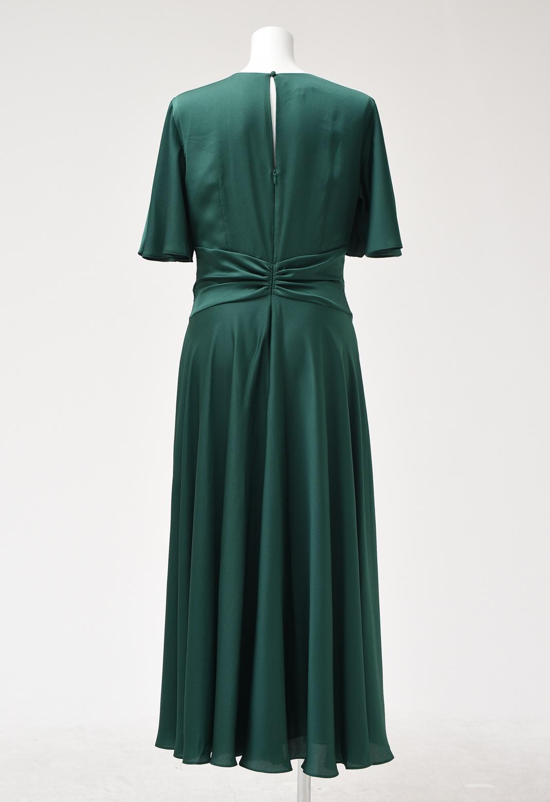 ウエストクロス ドルマンスリーブ ドレス